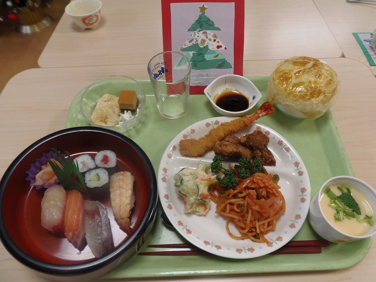 クリスマス・12月生まれの方の誕生会〜吾妻荘〜
